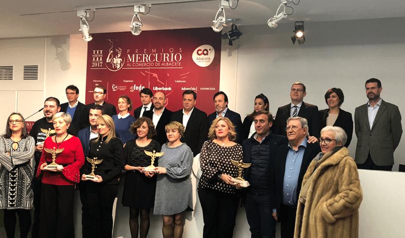 Premios al Comercio 2018 en Albacete