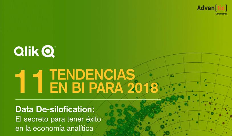 Qlik Tendencias en Business Intelligence 2018