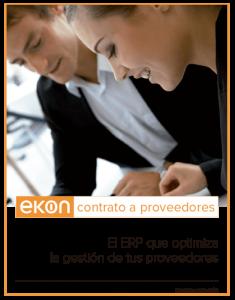 Ekon Contrato a proveedores