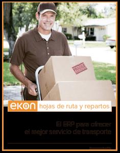 Ekon Hojas de Ruta y Repartos