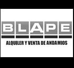 Logo Blape Alquiler y venta de andamios