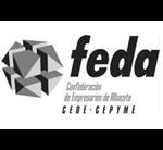 Logo FEDA Confederación de Empresarios de Albacete