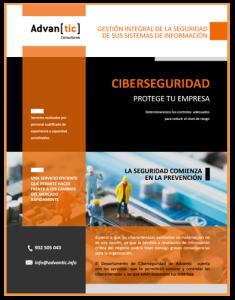 Servicios de CIberseguridad Advantic Consultores