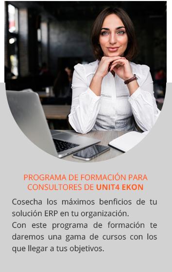 Fórmate con el Programa de Formación para Consultores de Unit4